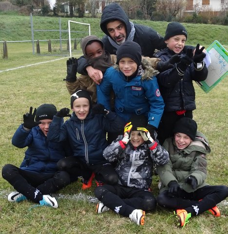 Match St Genies 2 dec 2017 U9
